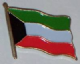 Kuwait Country Flag Enamel Pin Badge